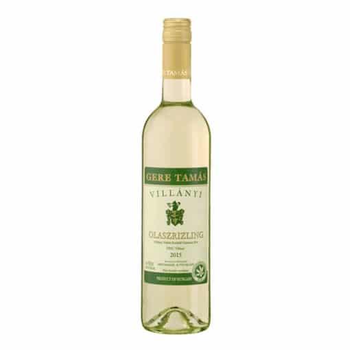 ital rendelés - ital házhozszállítás budapesten azonnal Gere Villányi Olaszrizling (0,75l)