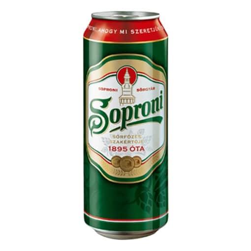 ital rendelés - ital házhozszállítás budapesten azonnal Soproni (0,4l)