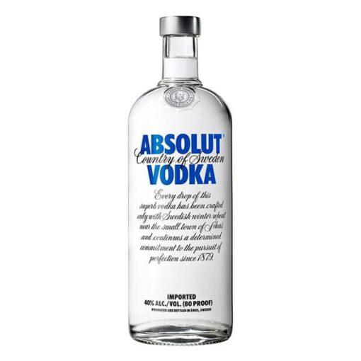 ital rendelés - ital házhozszállítás budapesten azonnal Absolut (1l)
